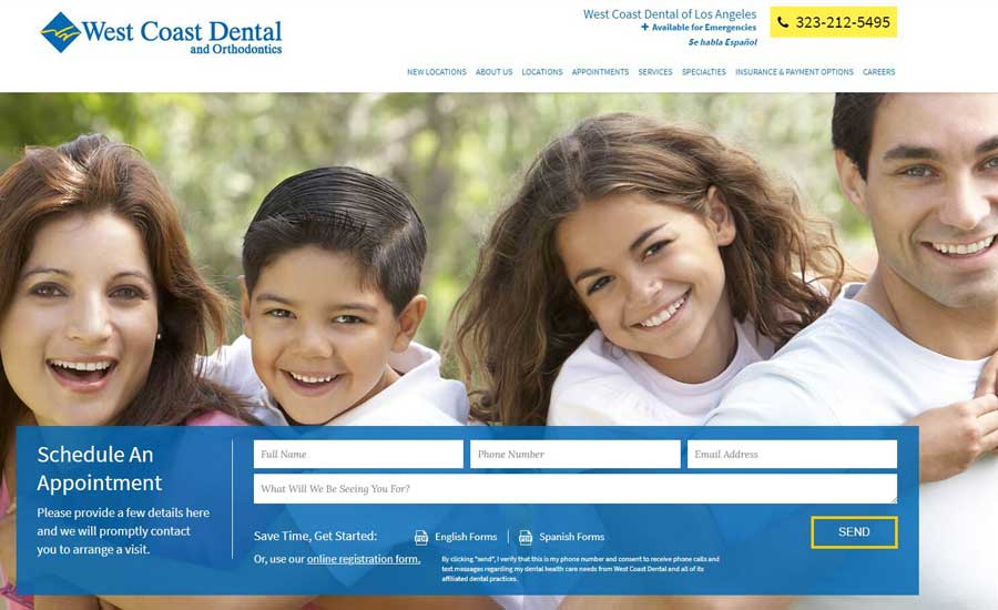 West Coast Dental of Los Angeles